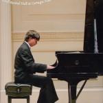 Dmitry Styrkas performing at Carnegia Hall