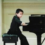 Eric Wang performing at Carnegie Hall
