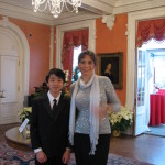 Governor's Mansion Holiday Celebration Concert 2012, with Eric Wang