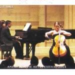 Julia Stewart & Rajeev Agarval performing at Carnegie Hall
