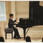 Roshan Benefo performing at Carnegie Hall