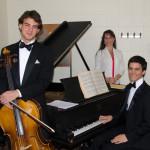 With Jason Isbit (cello) & Leonidas Tolias (piano)