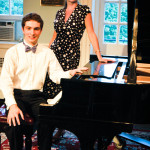 With Jonathan Taratuta-Titus at his senior recital, Williamson Hall, Westminster Choir College