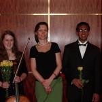 With Julia Stewart and Rajeev Agarval at Carnegie Hall