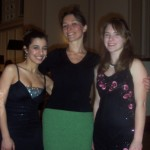With Michelle Rofrano (left) & Shannon Cahill (right)