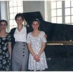 With Olivia Pascarella (left) & Michelle Pascarella (right)